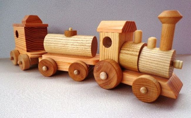 Wooden Toy Train Set Heirloom Quality Classic Toy