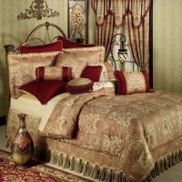 Kalihari Comforter Bedding by Croscill | Burgundy ...