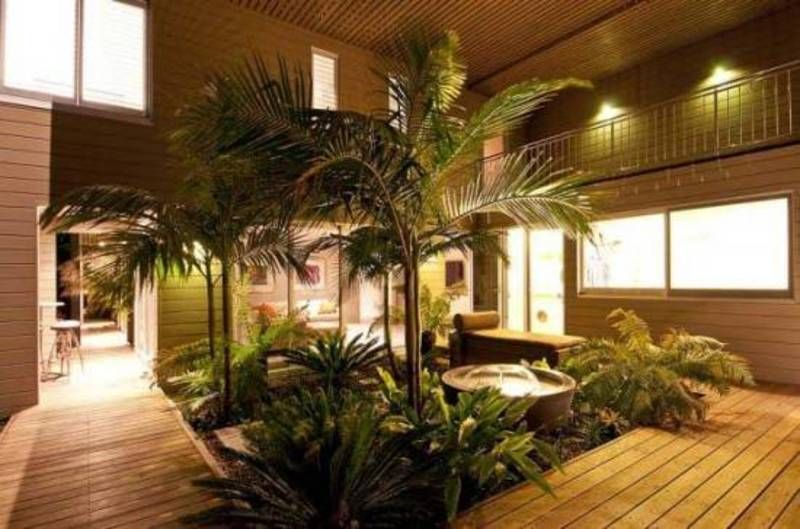 Indoor Asian Water Gardens Tropical Interior Design Homes