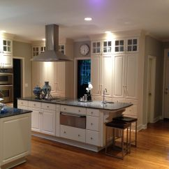 Blue Pearl Granite Kitchen Cabinet Sliding Shelves Ivory Cabinets With