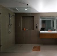 curbless shower bathroom designs | Curbless Showers ...