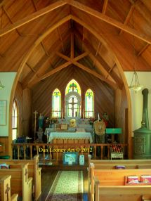 Silver City Idaho - Catholic Church