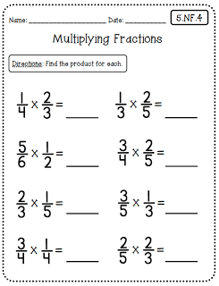 Common Core Math Worksheets (5th Grade Edition) at Create