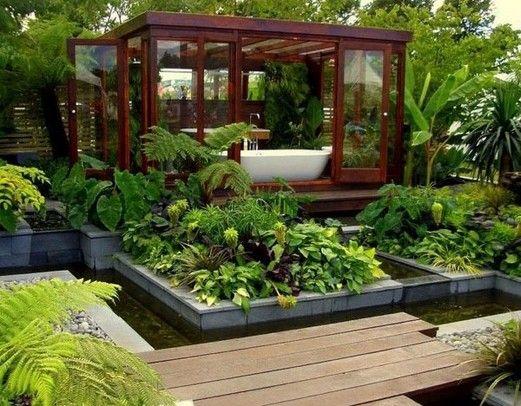 Contemporary And Unique Design Of Outdoor Garden Lighting Design