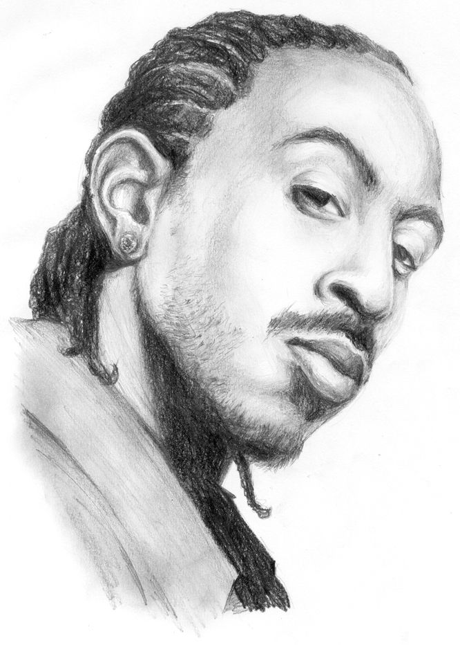 Art Drawings Famous Rappers
