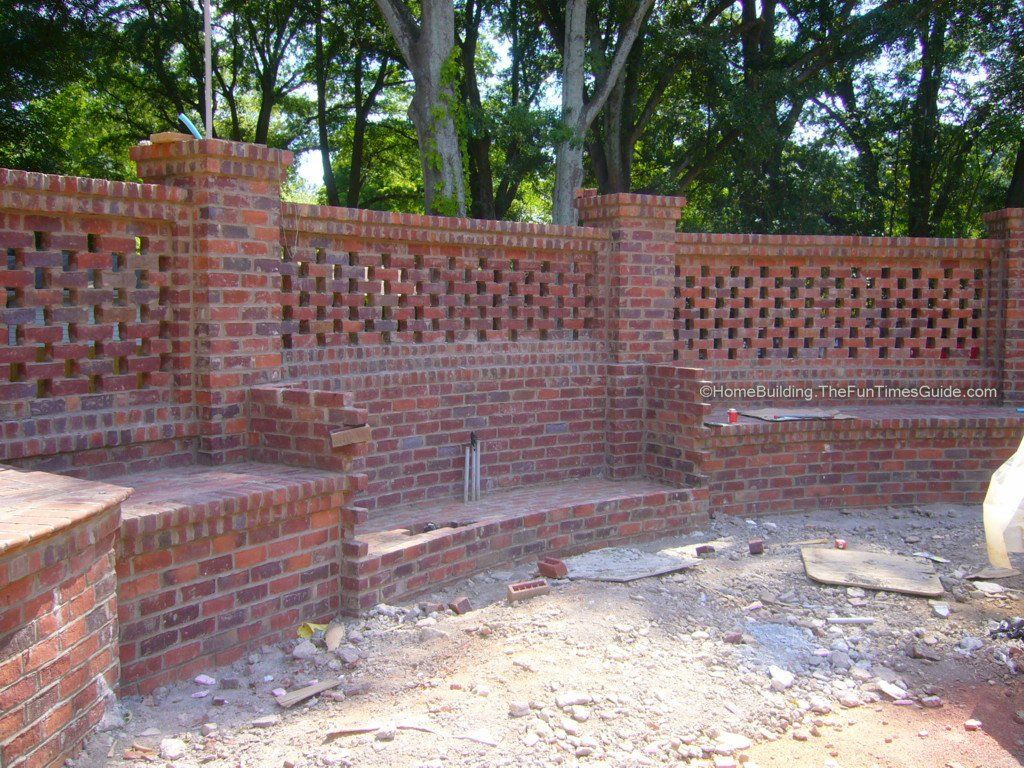 Handmade Brick Walls > BRICK GALLERIES In The Garden Pinterest