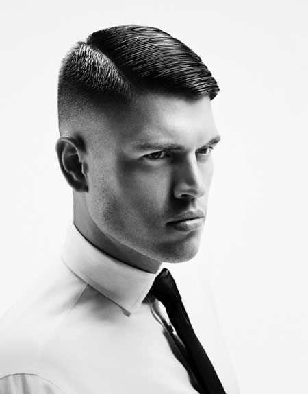 Mens Hairstyles For 2014 Giuseppe Zanotti Saint Laurent