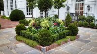 Square Flower Bed Ideas | Landscape Designs | Pineville ...