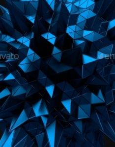 Abstract  rendering of blue chaotic structure also art designs rh za pinterest