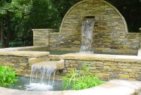 waterfall walls outdoors   Outdoor Wall Fountains Ideas ...