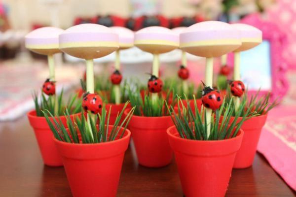 Woodland Owl Bug Flower Garden Girl Birthday Party Planning Ideas