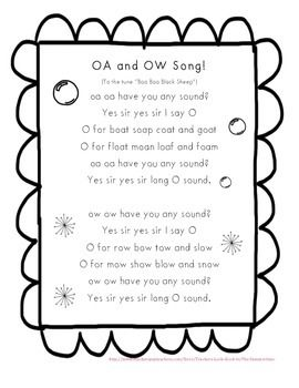 OW and OA song to the tune