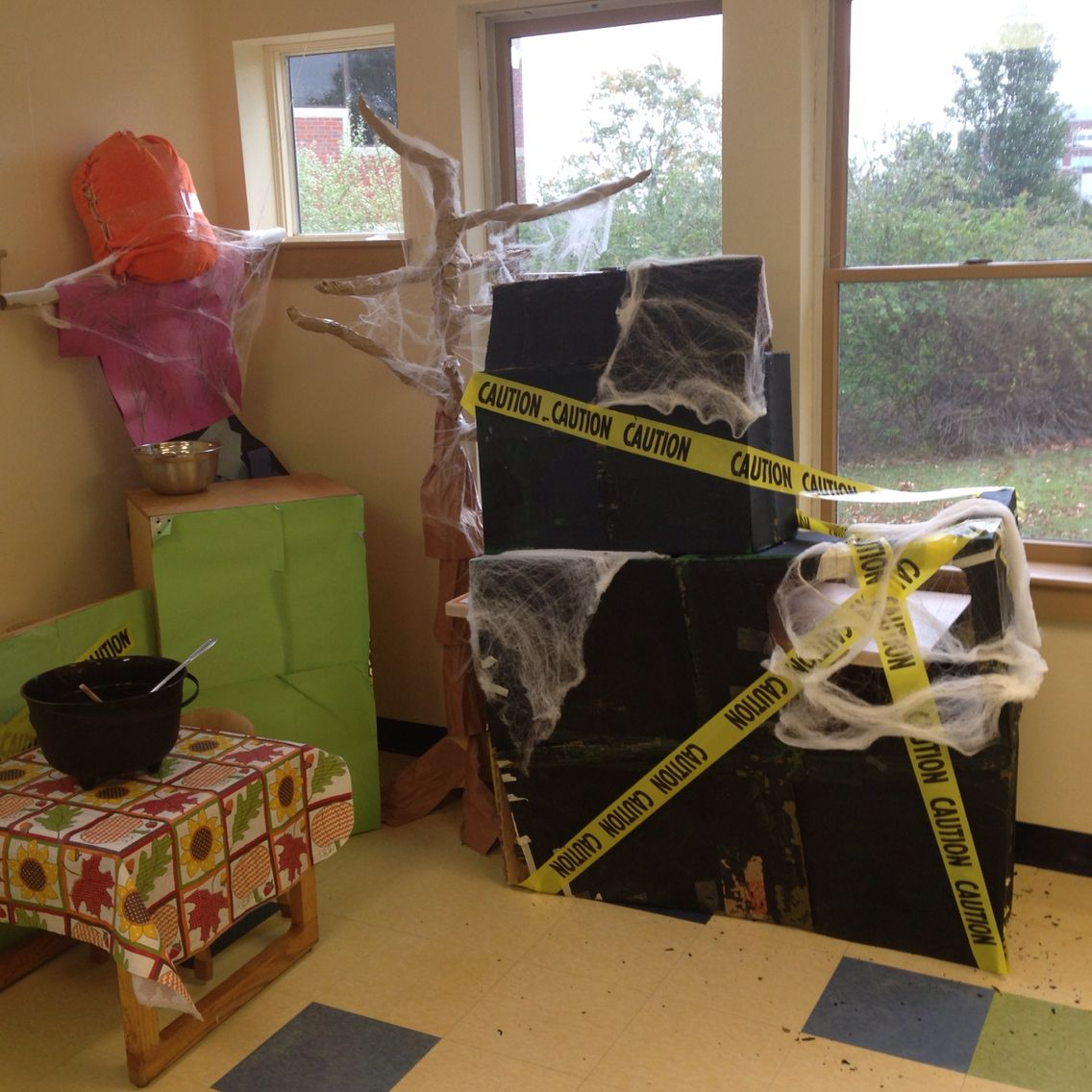 Haunted House Dramatic Play