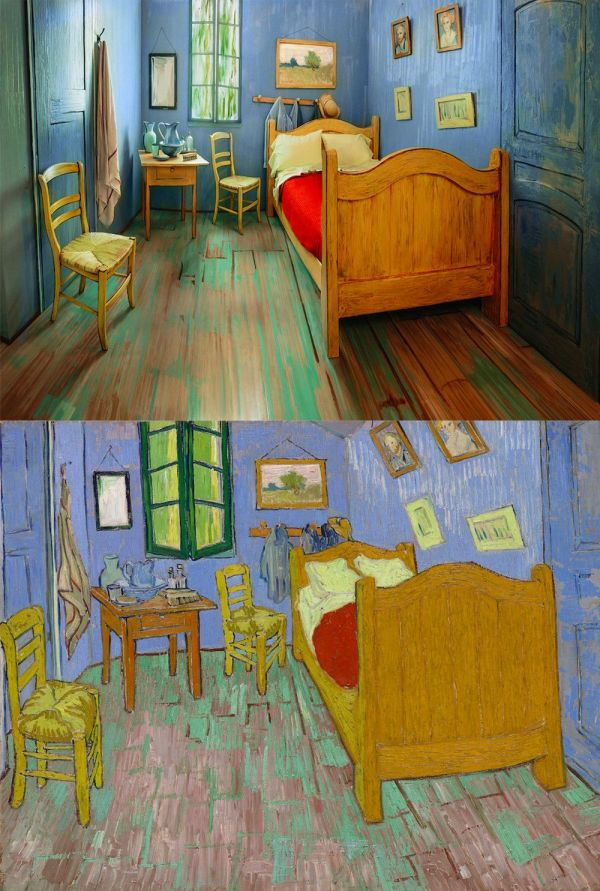 Vincent Van Gogh Bedroom Painting