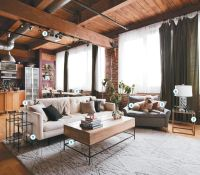 Loft living for newlyweds | Lofts, Globe and Apartments