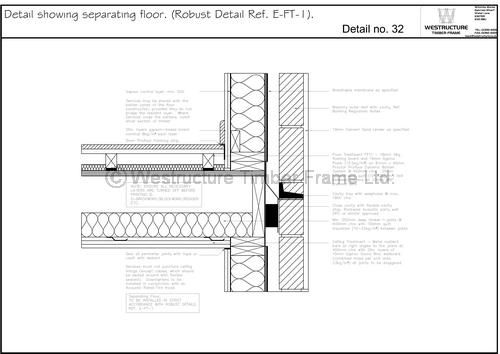 Technical drawings showing standards and building