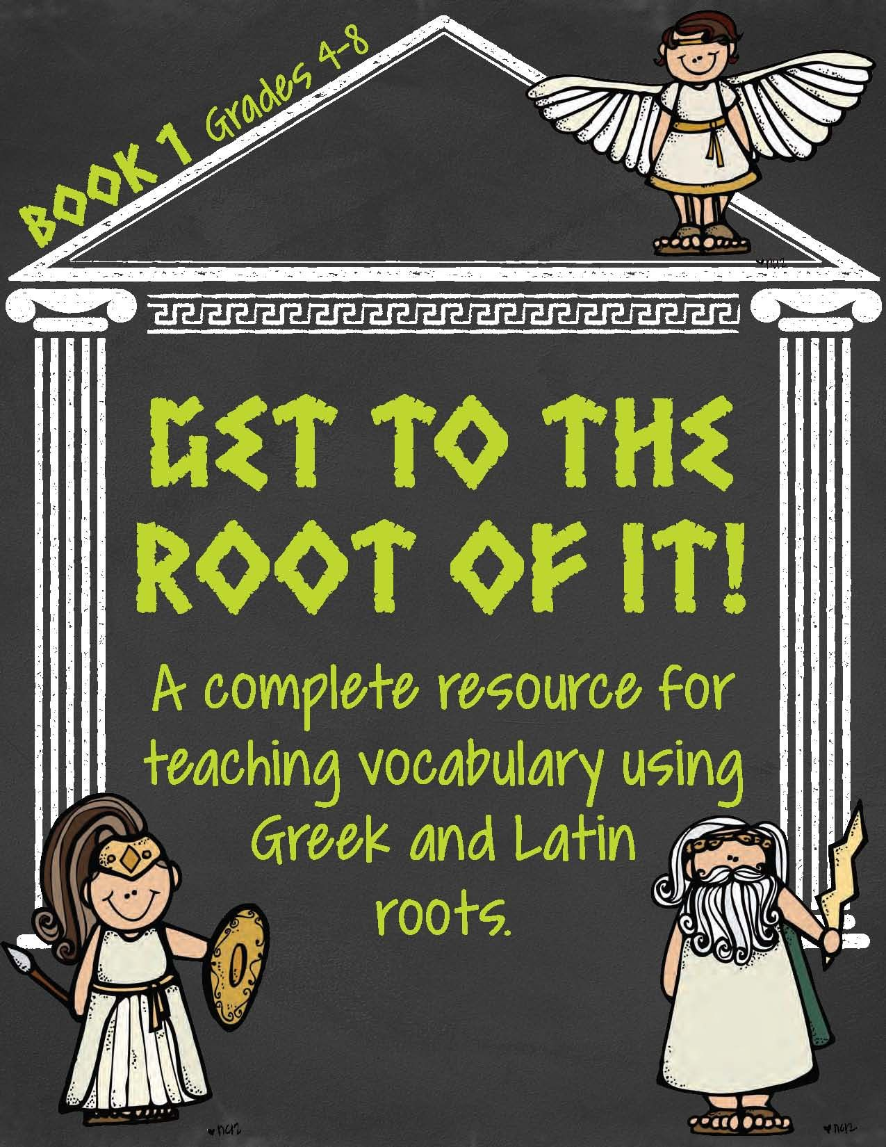 Greek And Latin Root Words Book 1