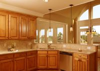 Corner Kitchen Sink Design Ideas, Kitchen Ideas With Oak ...