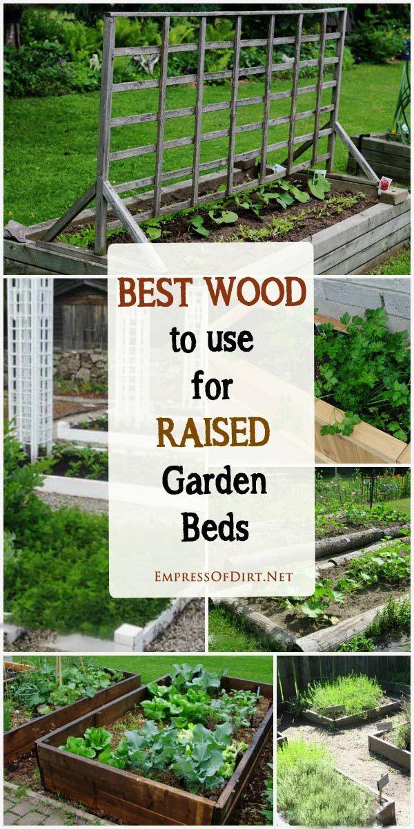 Lumber Raised Vegetable Garden