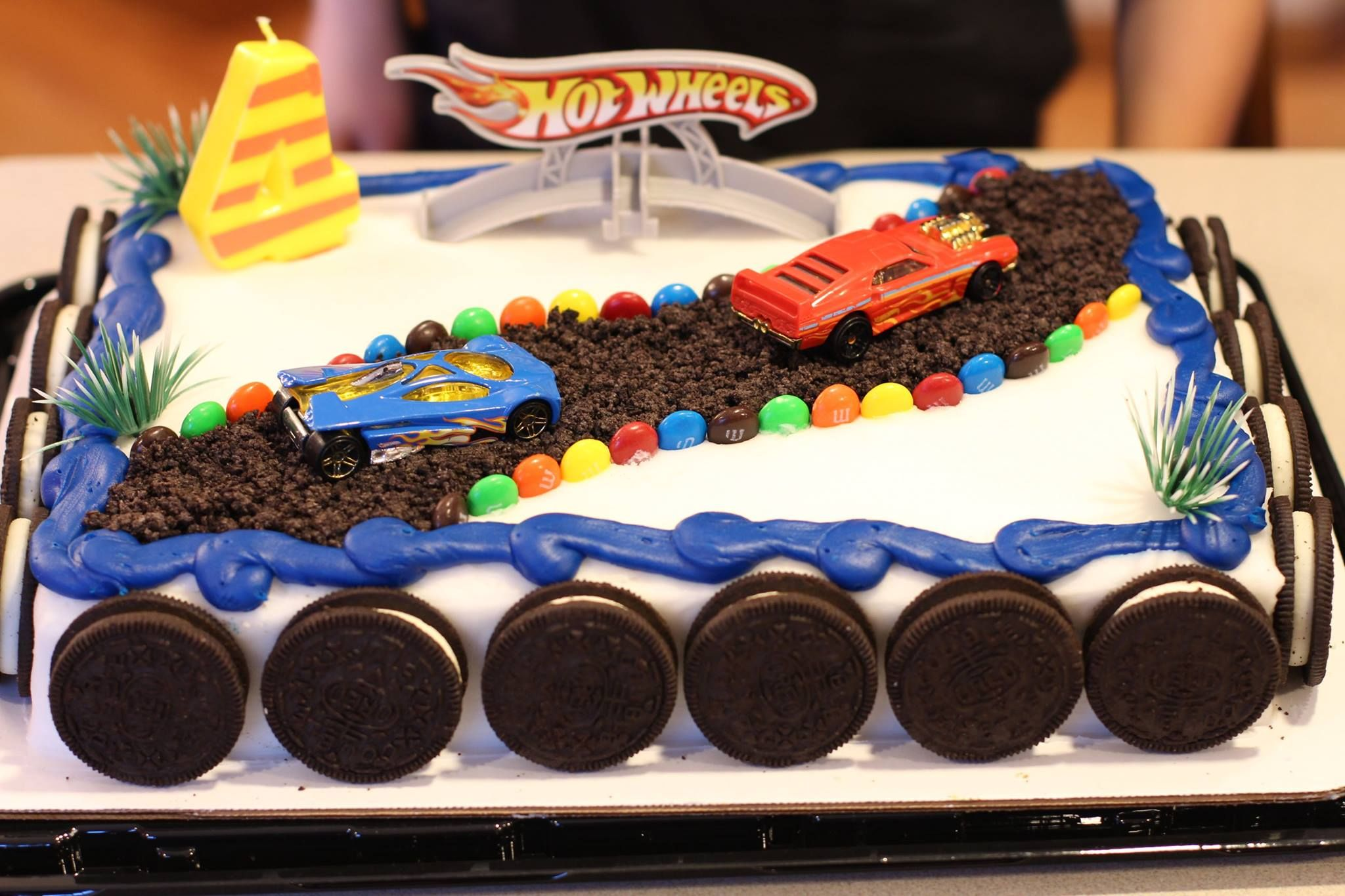 Diy Hotwheels Birthday Cake