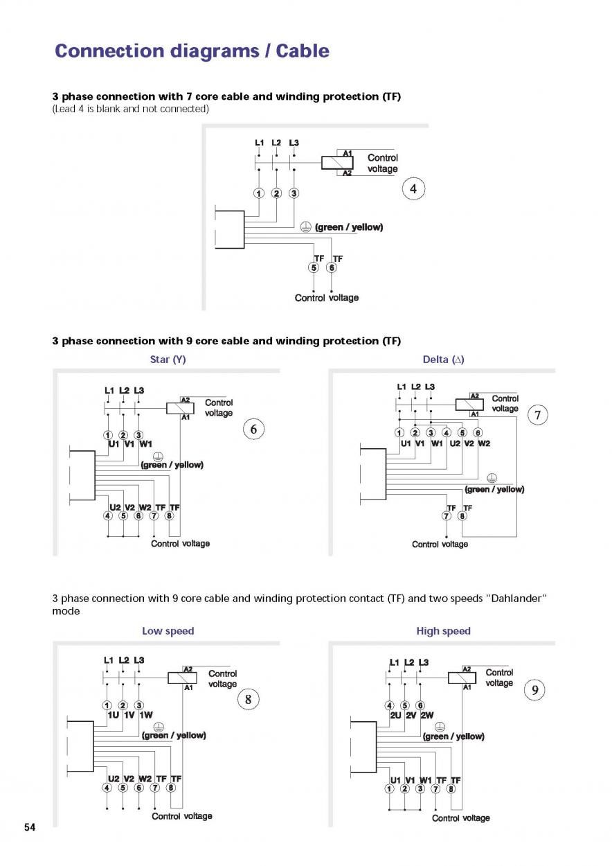 29870d1294074282 Modifying Three Phase Motors Single Phase Use