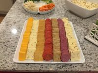 Meat and cheese tray, target platter, party appetizer ...