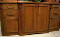 quartersawn oak cabinet hardware ideas