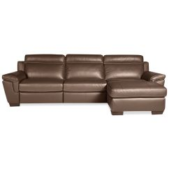 Leather Sofa With Chaise And Recliner Sofas Cheap Prices Julius 3 Pc Sectional 1 Power