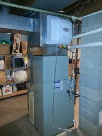 American Standard Two Stage Furnace, Cased Coil, and Whole ...