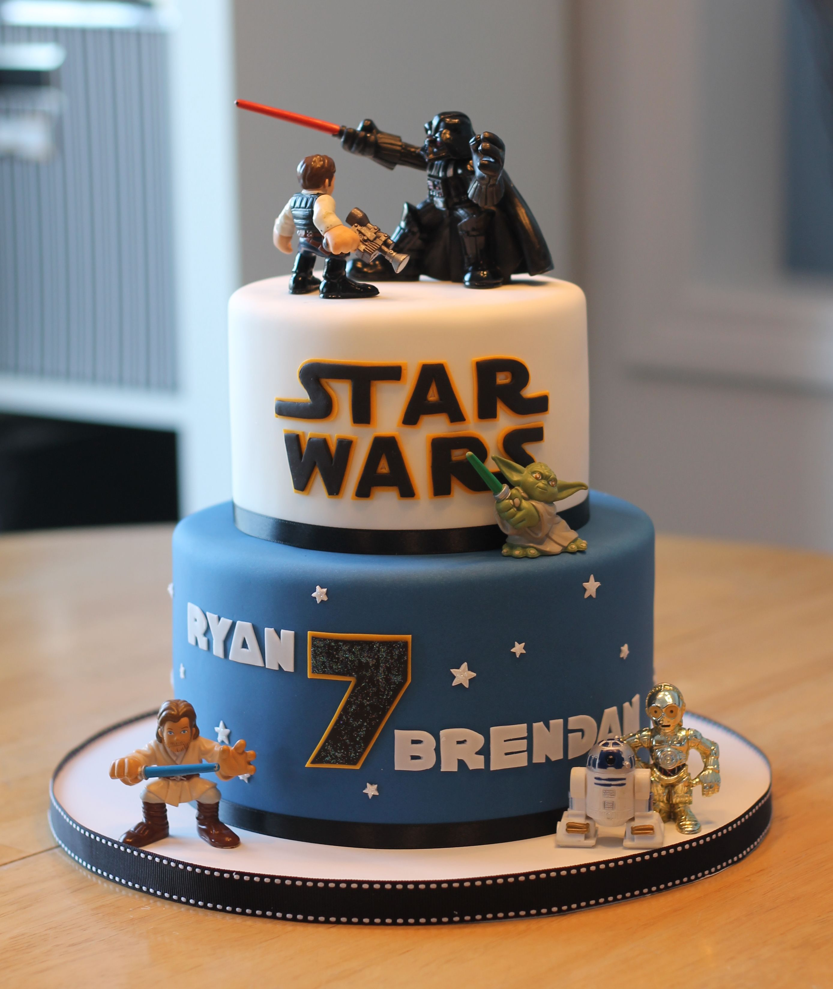 The Best Star Wars Birthday Cake