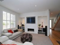 t/v fireplace recessed shelves | Nunawading weatherboard ...