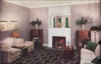 1935 Modern Living Room in Neutrals   Modern living rooms ...