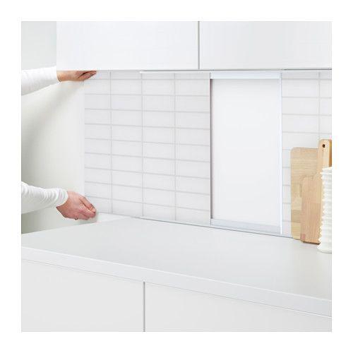 Ikea Tobo Tv Meubel.Ikea Kuche Wandpaneel Sibbarp Wandpaneel Massgefertigt Ikea