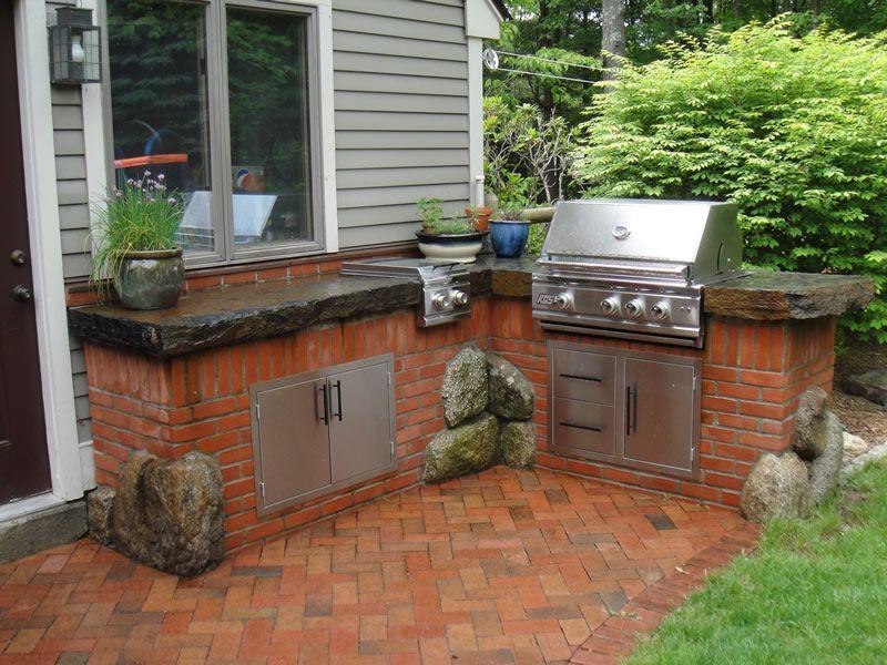 best red brick outdoor patio furniture    Google