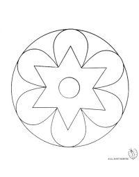 Disegno: Mandala 2. Disegni da colorare e stampare gratis ...