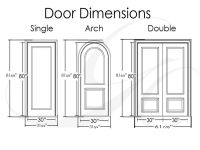 Interior Double Door Standard Sizes