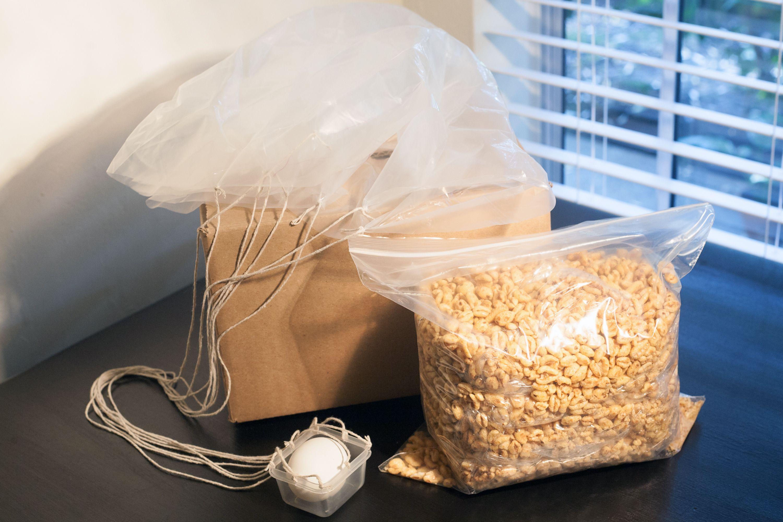 Egg Drop Experiment Materials List