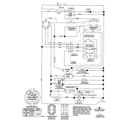 Lawn Tractor Wiring Diagram Msd Ignition Digital 6al Craftsman Riding Mower Electrical