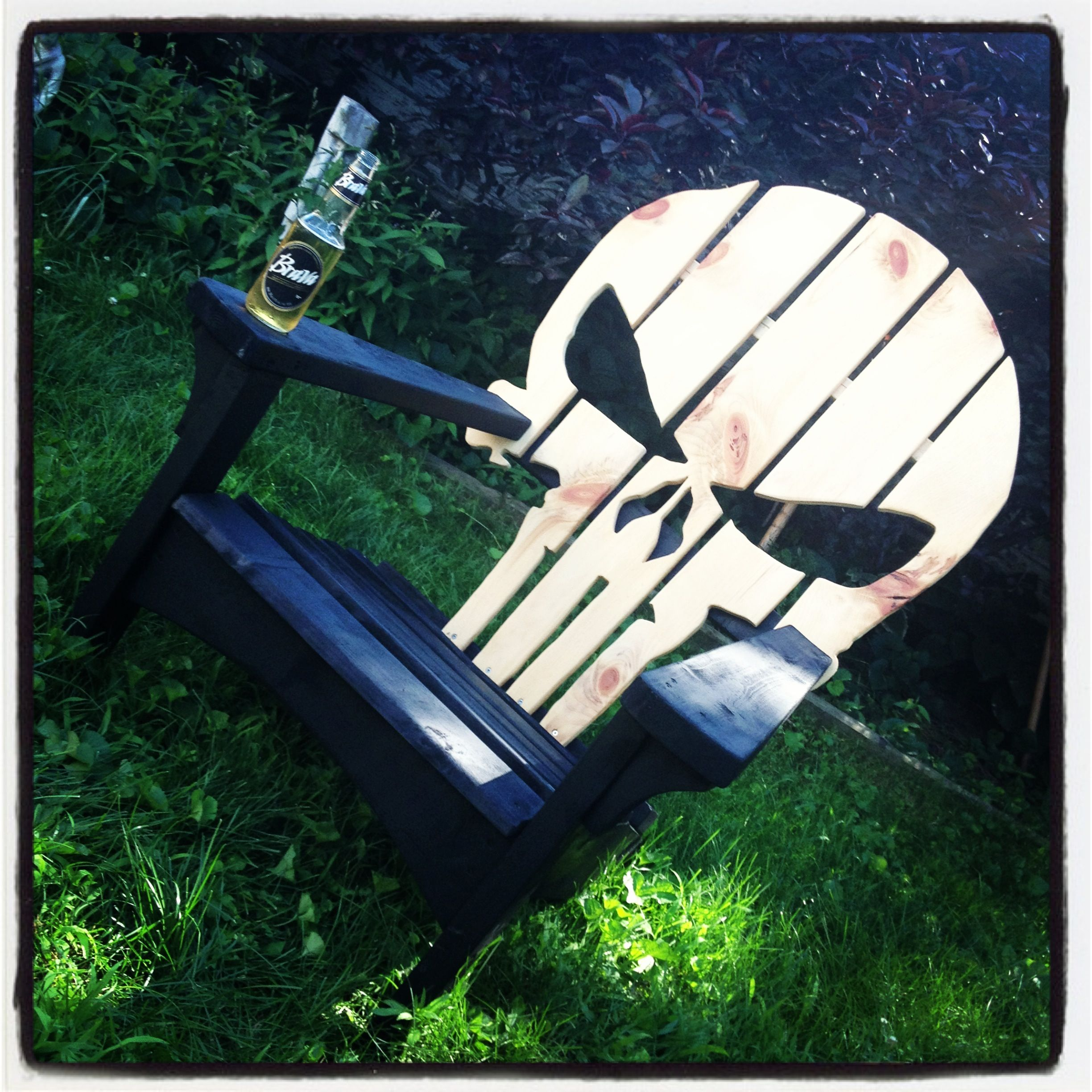 wooden skull chair rentals san jose punisher adirondack chairs we have made
