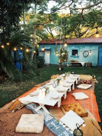 Bohemian Dinner Party | Spell Designs | DIY | Pinterest ...