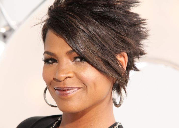 Short Hairstyle: Nia Long Short Hairstyles. Actress Nia Long Hot Celebrity Hairstyles Photos Short Of Cut Computer High Quality