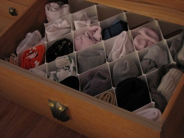 25 best ideas about organize socks on pinterest