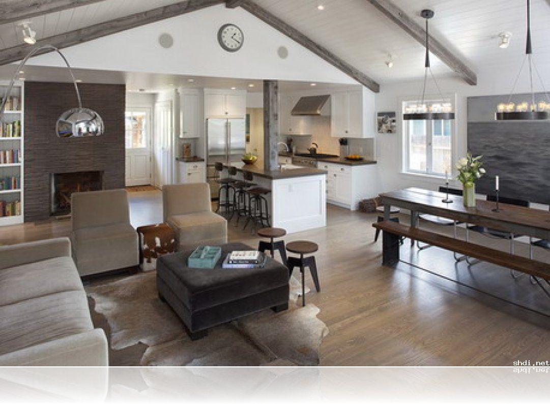 open plan kitchen dining living room modern sunroom - google