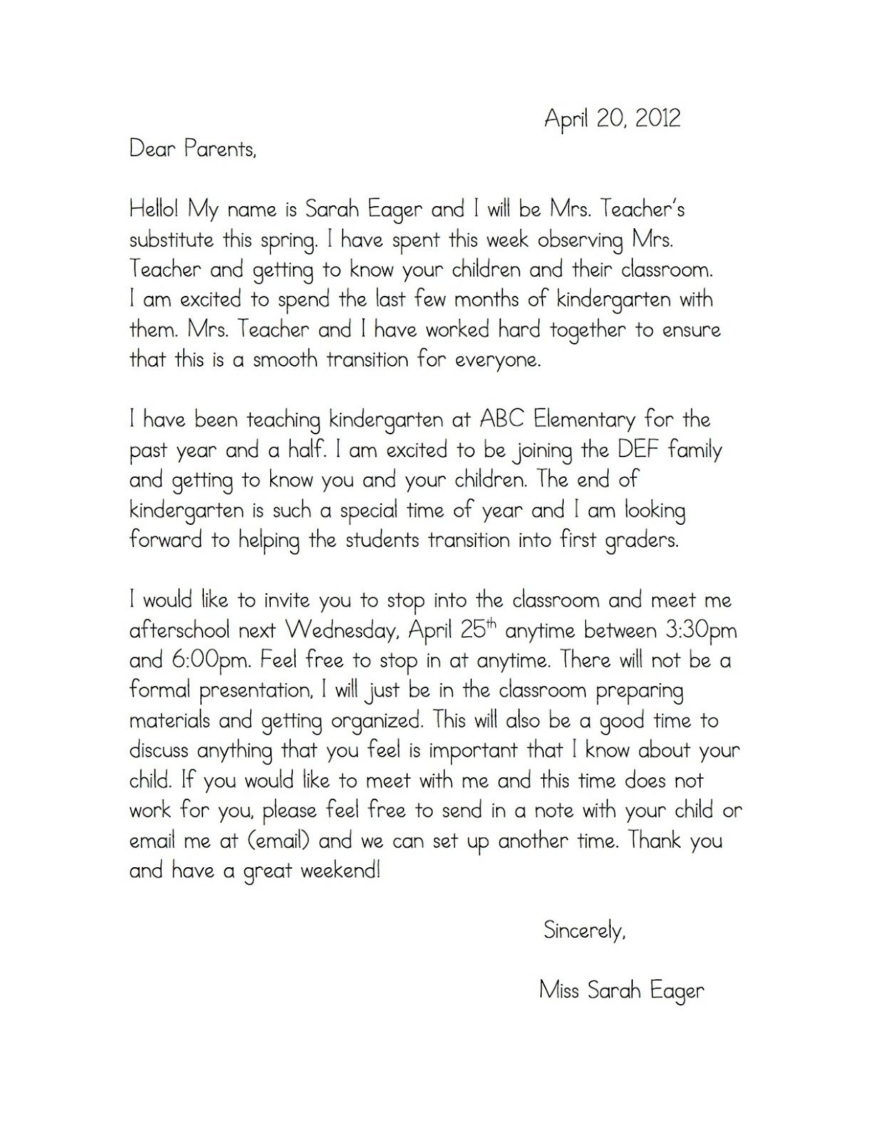 Teaching Cover Letter For New Teachers Cover Letter For New Teachers