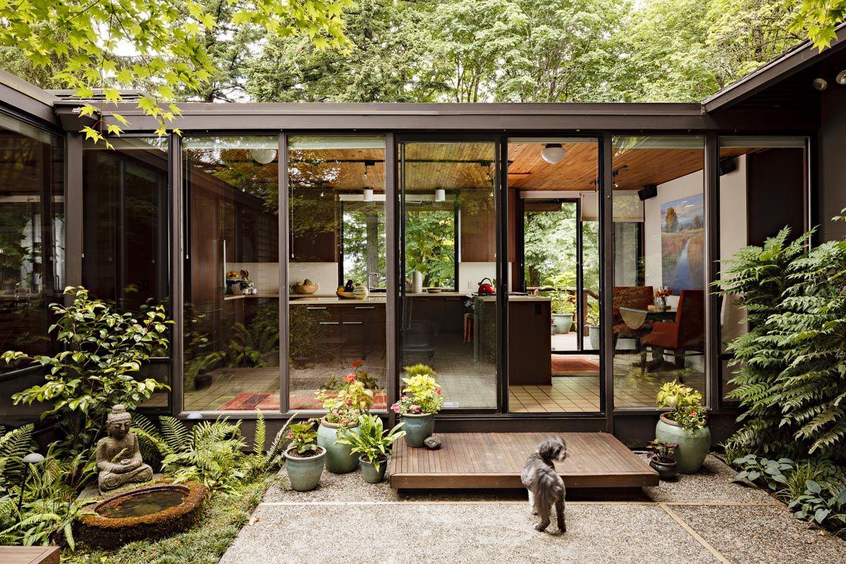 Mid Century Modern Kitchen Remodel Portland Oregon Mid Century