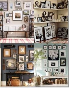 Gallery wall ideas also muur pinterest and rh