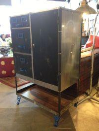 repurposed cole steel file cabinet by rogue decor co