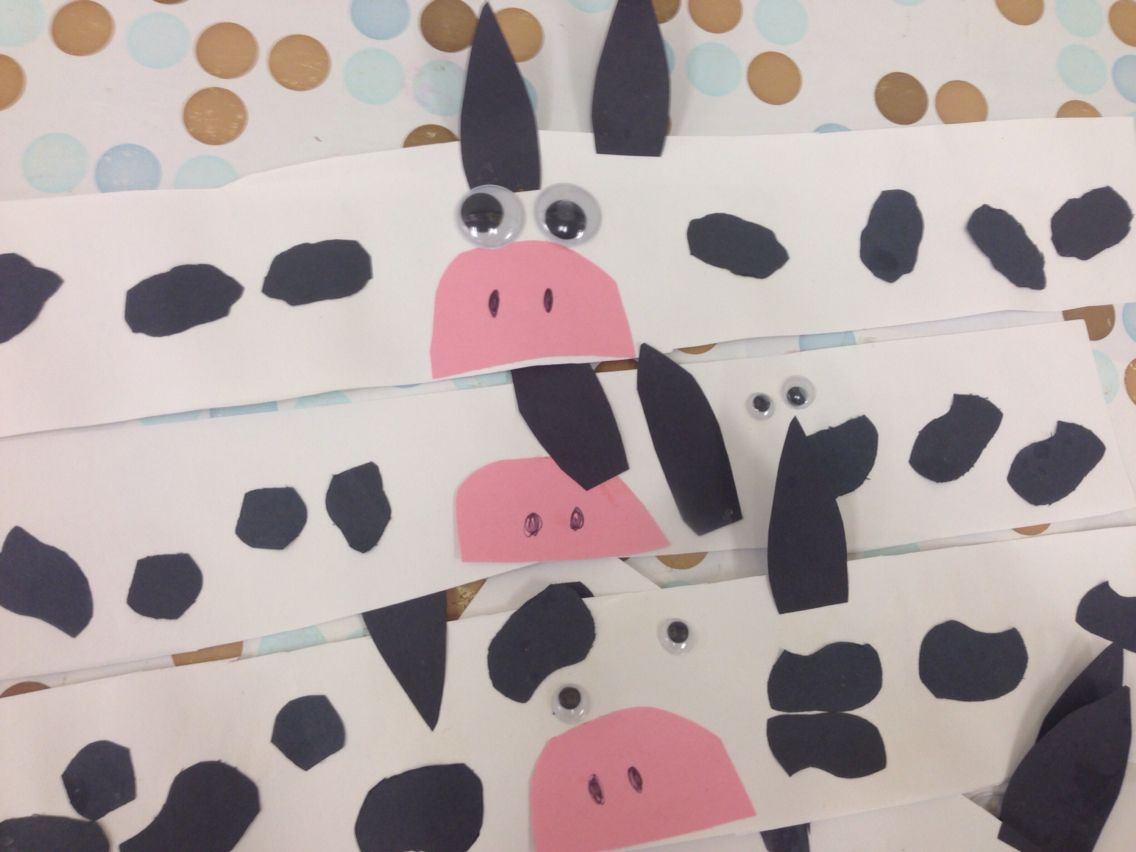 Cow Headbands Cow Preschool Farm