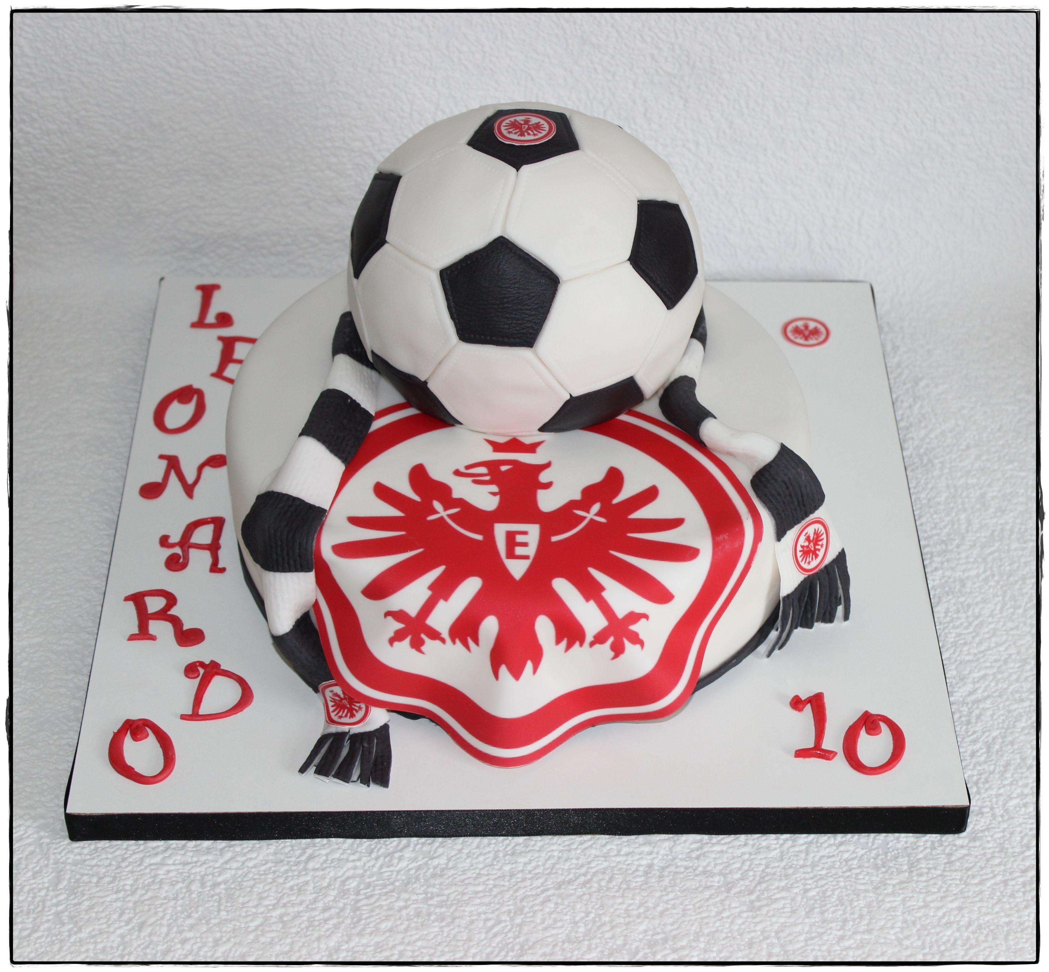 Eintracht Frankfurt zum Geburtstag  Zuckerzeugs