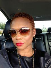 twa natural hair short